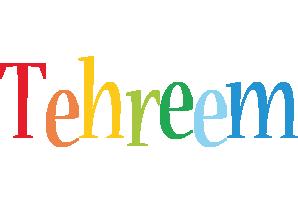 Tehreem birthday logo
