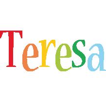 Teresa birthday logo