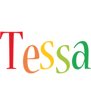 Tessa birthday logo
