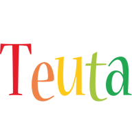 Teuta birthday logo