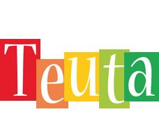 Teuta colors logo