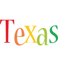 Texas birthday logo