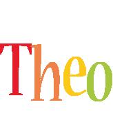 Theo birthday logo