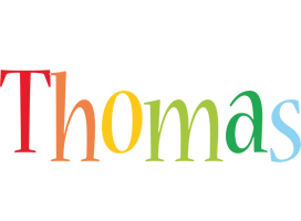 Thomas birthday logo