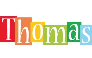 Thomas colors logo