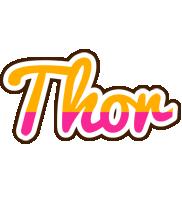 Thor smoothie logo