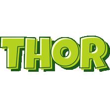 Thor summer logo