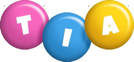 Tia Logo Name Logo Generator Candy Pastel Lager