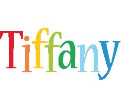 Tiffany birthday logo