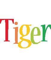 Tiger birthday logo