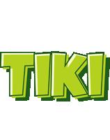 Tiki summer logo