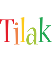 Tilak birthday logo