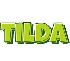 Tilda summer logo