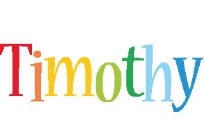 Timothy birthday logo