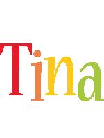 Tina birthday logo