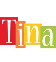 Tina colors logo