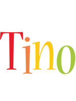 Tino birthday logo