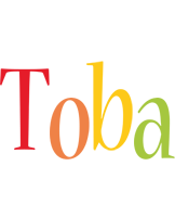 Toba birthday logo