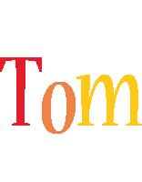 Tom birthday logo