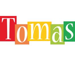 Tomas colors logo