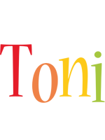 Toni birthday logo