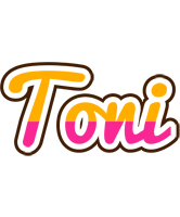 Toni smoothie logo