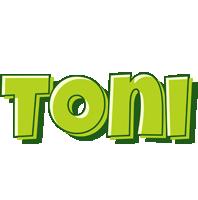 Toni summer logo