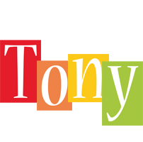Tony colors logo