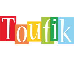 Toufik colors logo