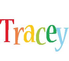 Tracey birthday logo