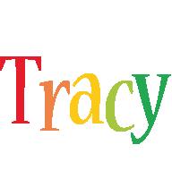 Tracy birthday logo