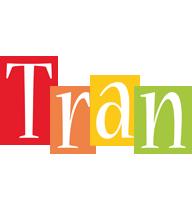 Tran colors logo
