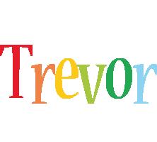 Trevor birthday logo