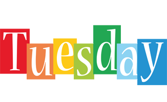 Tuesday colors logo