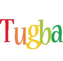 Tugba birthday logo
