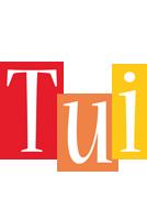 Tui colors logo