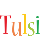 Tulsi birthday logo