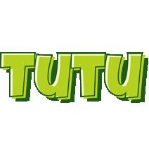 Tutu summer logo