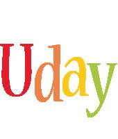Uday birthday logo