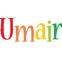 Umair birthday logo