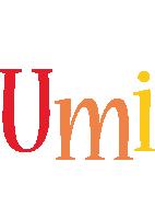 Umi birthday logo