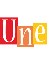 Une colors logo