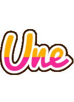 Une smoothie logo