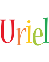 Uriel birthday logo