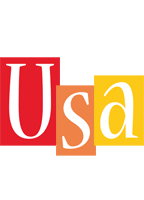 Usa colors logo