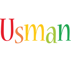 Usman birthday logo