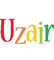 Uzair birthday logo