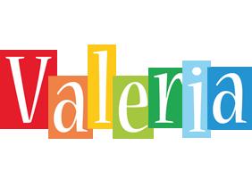 Valeria colors logo