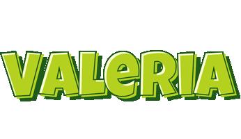 Valeria summer logo