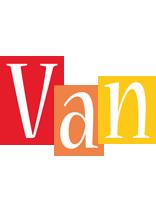 Van colors logo